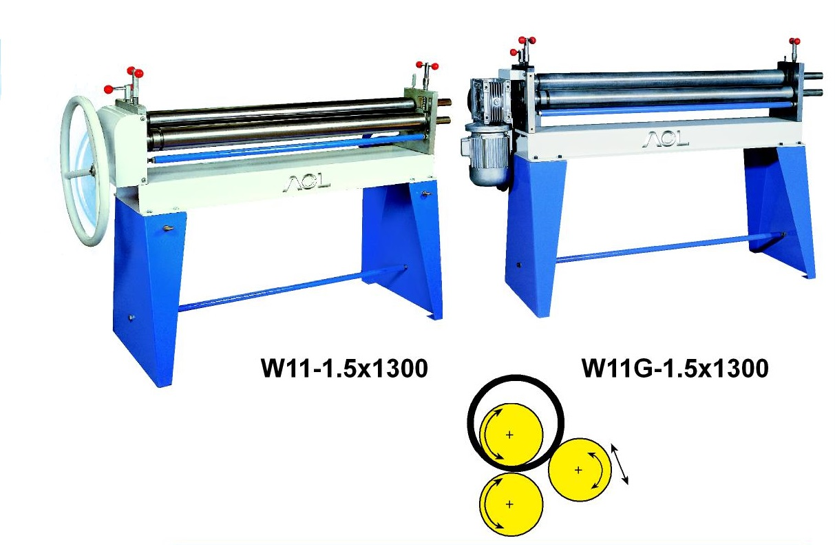 3 Roller Bending Machine (Manual/Motor)
