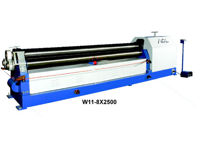 W11 Series 3-Roller Plate Bending Machine
