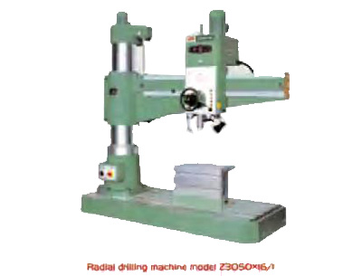 Radial Drilling Machine Model Z3050x16/1