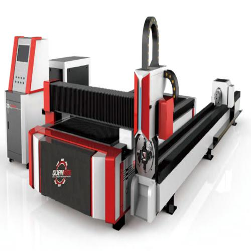 Sheet & Pipe Fiber Laser Cutting Machine